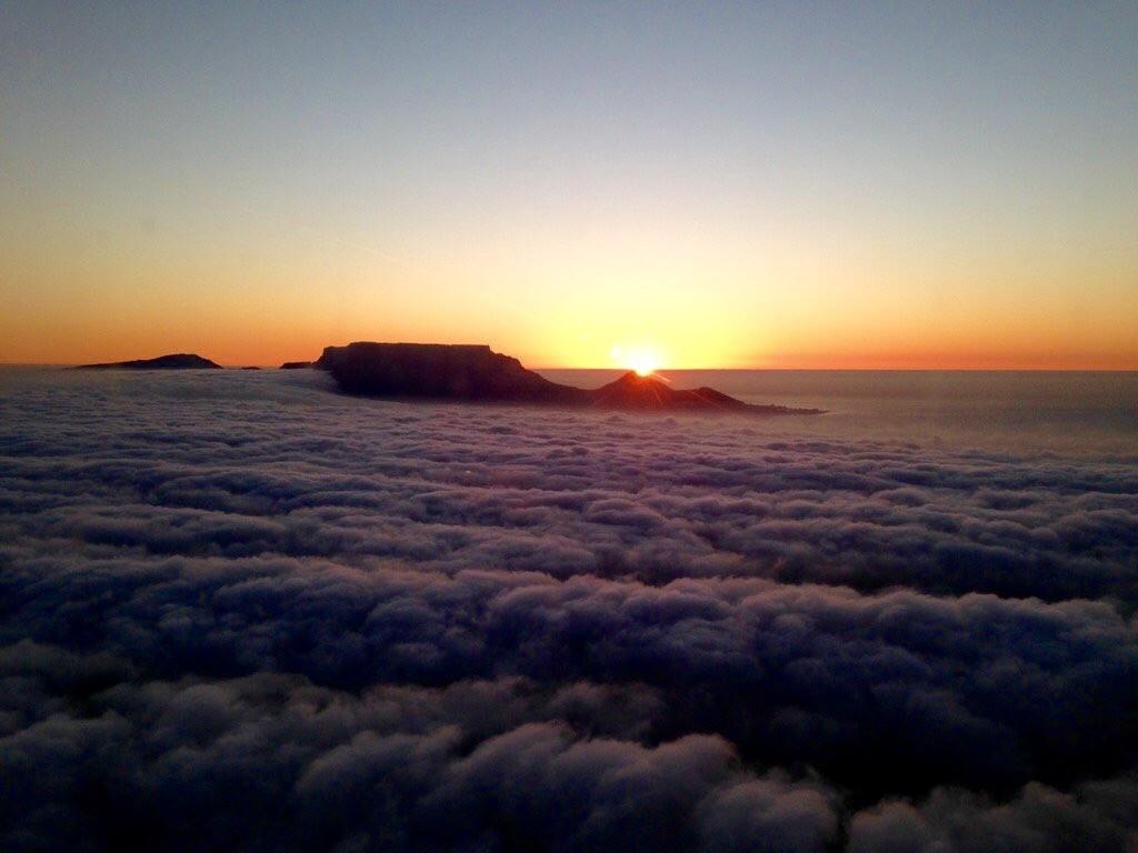sunset cape